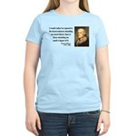 Thomas Jefferson 11 Women's Light T-Shirt