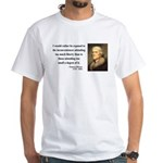 Thomas Jefferson 11 White T-Shirt