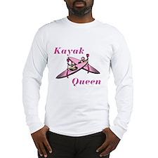 Kayak Queen Long Sleeve T-Shirt