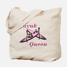 Kayak Queen Tote Bag