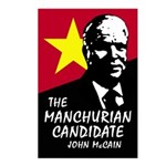 Manchurian McCain Postcards (Package of 8)