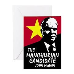 Manchurian McCain Greeting Card