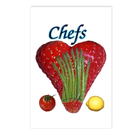 Chef Gifts Postcards (Package of 8)