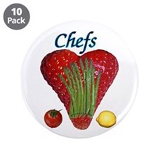"""Chef Gifts 3.5"""" Button (10 pack)"""