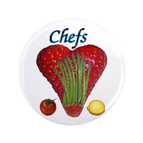 """Chef Gifts 3.5"""" Button"""