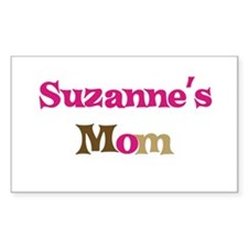 Suzanne's Mom Rectangle Decal