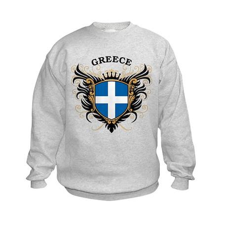 Greece Kids Sweatshirt