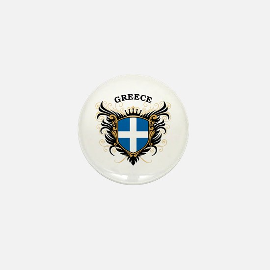 Greece Mini Button