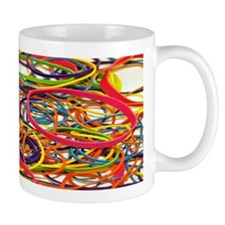 Rainbow Rubberband Mug