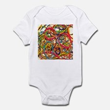 Rainbow Rubberband Infant Bodysuit