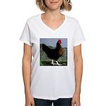 Sex-link Hen Women's V-Neck T-Shirt