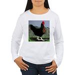 Sex-link Hen Women's Long Sleeve T-Shirt