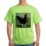 Sex-link Hen Green T-Shirt