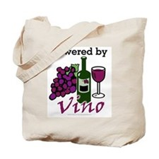 Powered By Wine Tote Bag
