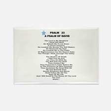 23 Psalm-Rectangle Magnet (100 pack)
