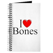 """""""I Love Bones"""" Journal"""