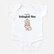 Future Volleyball Star (Boy) Infant Bodysuit