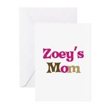 Zoey's Mom Greeting Cards (Pk of 10)