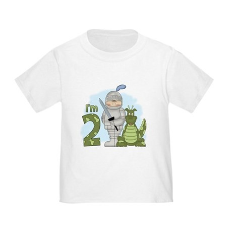Dragon Knight 2nd Birthday Toddler T-Shirt