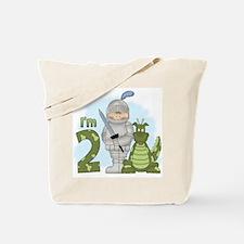 Dragon Knight 2nd Birthday Tote Bag