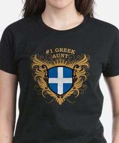 Number One Greek Aunt Tee