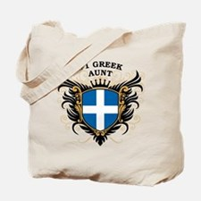 Number One Greek Aunt Tote Bag