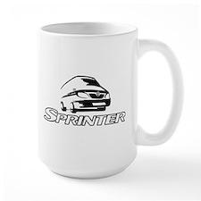 mercedes_sprinter[1] Mugs