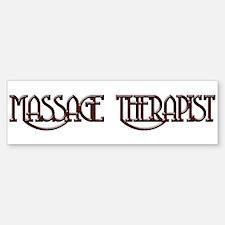 Massage Therapy 3 Bumper Bumper Bumper Sticker