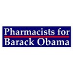 Pharmacists for Barack Obama sticker