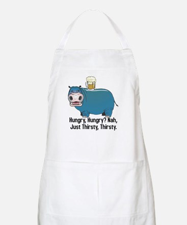 Thirsty, Thirsty Hippo BBQ Apron