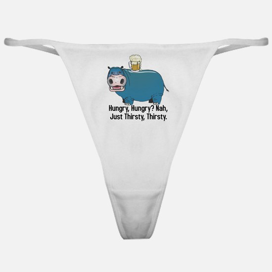 Thirsty, Thirsty Hippo Classic Thong