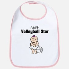 Future Volleyball Girl Star Bib