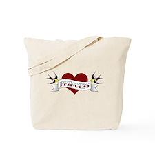 Cute California tattoo Tote Bag