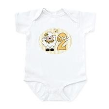 Daisy Lamb 2nd Birthday Infant Bodysuit