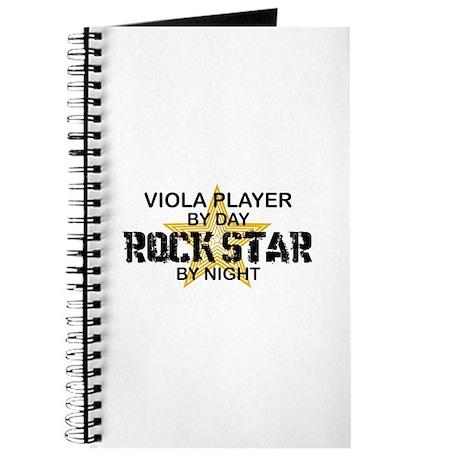 Viola Player Rock Star Journal