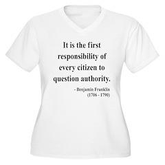 Benjamin Franklin 17 T-Shirt