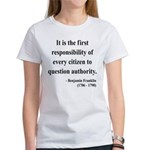 Benjamin Franklin 17 Women's T-Shirt