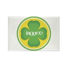 Ireland Clover Rectangle Magnet
