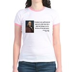 Benjamin Franklin 19 Jr. Ringer T-Shirt