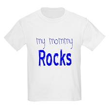 My Mommy Rocks Blue T-Shirt