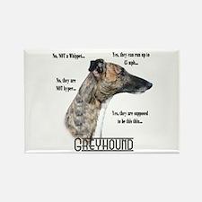 Greyhound FAQ Rectangle Magnet (10 pack)