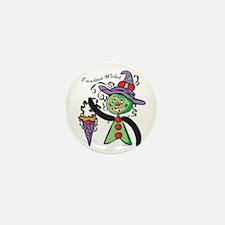 """I'm A Little Wicked"" Mini Button (10 pa"