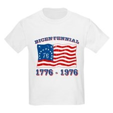 Retro 1776-1976 Flag Kids T-Shirt
