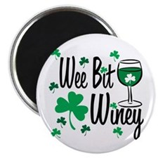 Wee Bit Winey Magnet