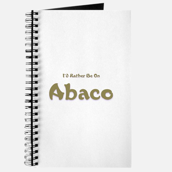 I'd Rather Be...Abaco Journal