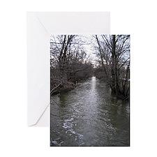 Creek 1 Greeting Card