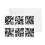 Optical Illusion Greeting Cards (Pk of 20)