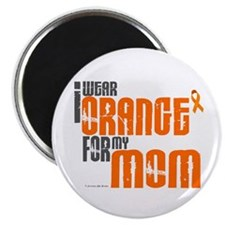I Wear Orange For My Mom 6 Magnet