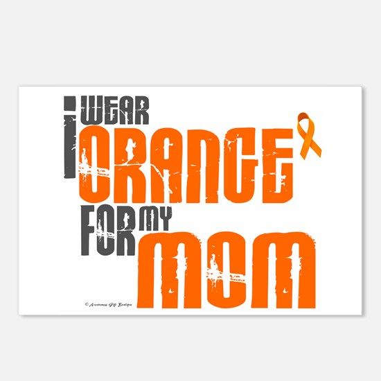 I Wear Orange For My Mom 6 Postcards (Package of 8