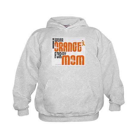 I Wear Orange For My Mom 6 Kids Hoodie